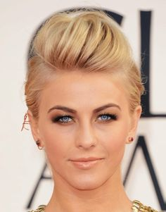Julianne Hough hair & makeup look from the red carpet of the Golden Globes. What do you think?