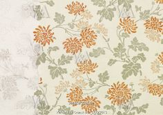 Wallpaper, by Charlotte Horn Spiers. England, late 19th century