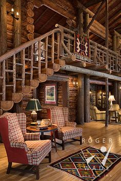 n this article, we will talk about excellent log cabin interior design you can apply into your cabin. Furnishing a log Cabin Interior Ideas. Log Cabin Living, Small Log Cabin, Log Cabin Homes, Diy Log Cabin, Luxury Log Cabins, Cabin Interior Design, House Design, Interior Ideas, Country Interior