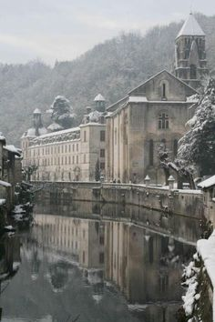 dyingofcute: beautiful small town of Brantôme in the Périgord blanc; France