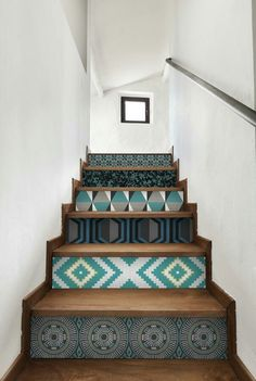 Project San Clemente Stairs Home And Painted Stairs