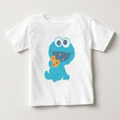 (Cookie Monster Eating Cookie Infant T-shirt) #BlueMonsterSesameSt #BlueMonsterSesameStreet #Children #Kids #Monster #MonsterHead #MonsterSesameStreet #Muppets #SeasameSt #SeasameStreet #Sesame #SesameSt #SesameStreet #SesameStreetCharacters #TvShow is available on Funny T-shirts Clothing Store   http://ift.tt/2a8J8EF
