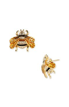 Free shipping and returns on kate spade new york 'queen bee' stud earrings at Nordstrom.com. Handcrafted bees are brightened by glittering stones.