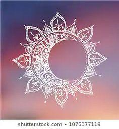 Men's Tattoos 19586 Images, Stock Photos & Vector Images of Mandala Mandala Tattoo Design, Mandala Drawing, Mandala Sun Tattoo, Boho Tattoos, Body Art Tattoos, Tatoos, Sun And Moon Drawings, Sun And Moon Mandala, Sun Moon