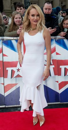 Amanda Holden in 'Britain's Got Talent' - Liverpool Photocall