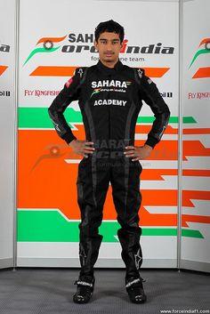 Sahara Force India Formula One Team Academy Driver - Tarun Reddy.