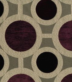 Richloom Studio Upholstery Fabric Conspiracy Mulberry, , hi-res
