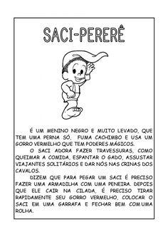 Lendas folclóricas brasileira - Personagens, história, origem e imagens Portuguese Lessons, Folklore, Knowledge, Education, Kids, Fictional Characters, 230, Sos Professor, York