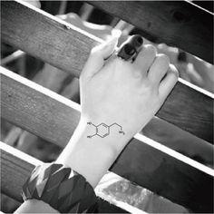 Dopamine tattoo,#temporarytattoo