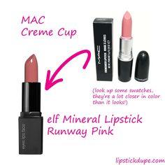bobbi brown brownie pink dupe prestige cameo lip liner