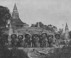 Siam, Thailand & Bangkok Old Photo Thread - Page 116 Thailand Pictures, Buddha, Thai Elephant, Khmer Empire, Kampot, Phnom Penh, Angkor Wat, Old Postcards, Old Town