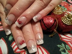 classy christmas nail art gallery nailartgallerynailsmagcom by wwwnailsmag - Christmas Nail Art Gallery
