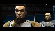 star wars the clone wars...Cody and Rex