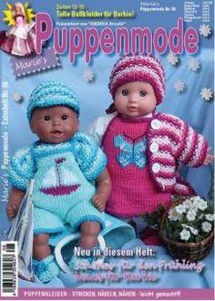 Marie's Puppenmode 08 | Martinas Bastel- & Hobbykiste