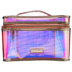 SEPHORA COLLECTION Holographic Bag Collection Macaroon