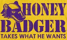 LSU Football Tyrann Mathieu Honey Badger Shirt