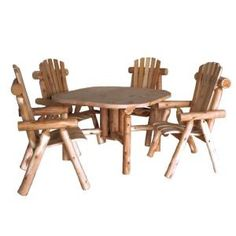 Lakeland Mills 5-Piece Patio Dining Set CF4730 at The Home Depot - Mobile