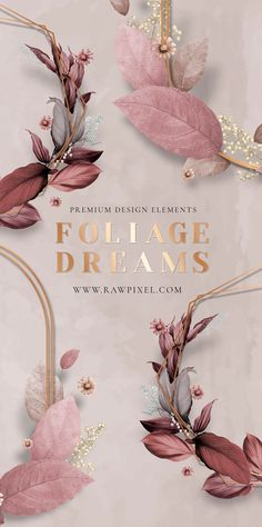 Get beautiful free and premium royalty-free foliage dreams vectors as well as stock photos, PSD, mockups, and illustrations at rawpixel.com Green Backgrounds, Wallpaper Backgrounds, Creative Design, Web Design, Flower Logo, Navy Blue Background, Wedding Logos, Blue Leaves, Love Art