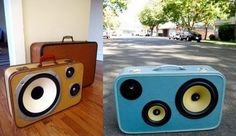 DIY Retro Furniture – 12 Things To Do With Vintage Suitcases   LOFFEE