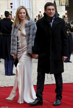 Dressed to impress: Australian actress Melissa George stunned in Paris on Tuesday as she a...