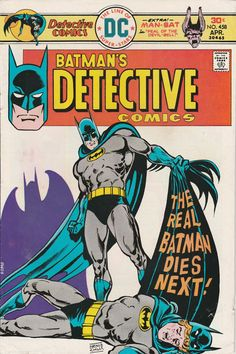 Detective Comics Vol. 40 No. 458  1976 by TheSamAntics on Etsy