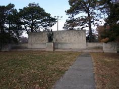This monument is located in Gage Park in Topeka, Kansas