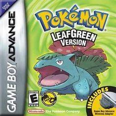 Pokemon LeafGreen Version Gameboy Advanced
