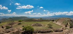 Zona arqueológica de Atzompa, Oaxaca.