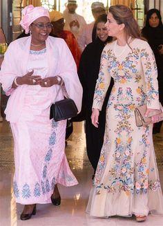 6 October 2016 - Princess Haya meets the First Lady of Nigeria