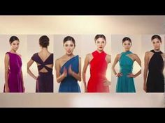 Twist & Wrap Dress: How to create 15 looks - YouTube