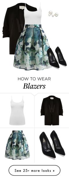 """""""Untitled #157"""" by creece-massoudi on Polyvore featuring River Island, Allurez, M&Co and Chicwish"""