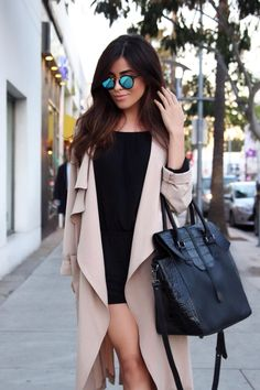 black booties, dolce vita, shop, outfit ideas, affordable finds, sazan barzani, style blogger, personal blog, los angeles, hair ideas, makeup ideas, krewe, treesje, handbags, australia fashion, romper, usa, international style, mirrored sunglasses, looks for less, affordable style, beauty, 2015 trends, trench coat, light trench coat, what is fashion, style inspiration