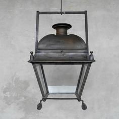 19th c. French Stable Lantern   Chateau Domingue