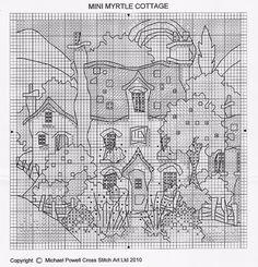 Michael Powell - Snow Mini Myrtle Cottage