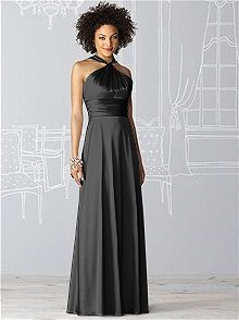 After Six Style 6624 #black #bridesmaid #dress