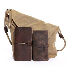 Women Vintage Messenger Bag Genuine Leather Canvas Crossbody Bag Tribal  Rucksack. Vintage Messenger BagWomen s HandbagsFashion ... 30d578b772349