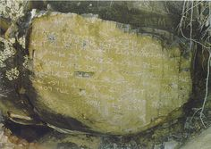 """The inscription is very unique for several reasons. First, it is written in an ancient Hebrew script. Second it is located near the small town of Los Lunas in the State of New Mexico, USA. Third, the inscription is of the """"Ten Commandments"""".    This proves that a Semitic people, probably Hebrews, arrived in the Americas long before Columbus or the Vikings."""