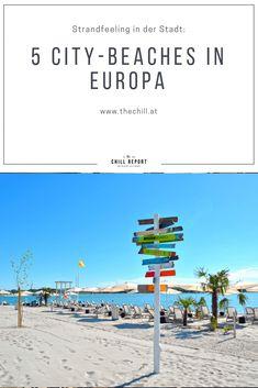 Sandstrand: 5 mal City Beach in Europa - The Chill Report Barcelona, Summer 3, City Beach, Wind Turbine, Beaches, Chill, Europe, Outdoor, City
