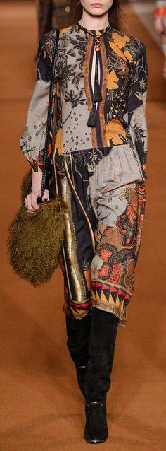 Etro | Fall'14 #prints #textiles #trends #fashion