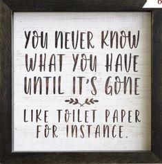 Funny bathroom decor ideas.