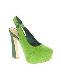 Go Green! #HighHeels