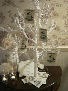 Wedding Favor Diy Vintage Look Wish Tree Place Cards Graduation Party Tags Set Of 200 Cream Inspired Trees