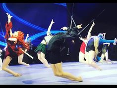 Game of Thrones Dance  - Move It Main Stage 2016 - Spirit YPC - YouTube