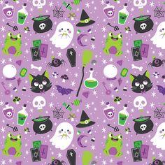 Cute Halloween Pattern by Pamela Barbieri My Artwork