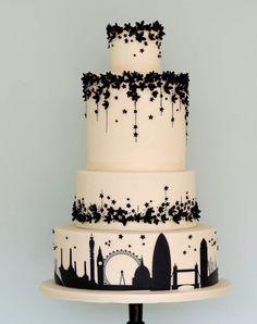 Las personas que diseñaron estos pasteles de boda sí que se pusieron creativos y son todas unas obras de arte: