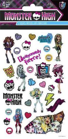 Amazon.com: Monster High Standard Stickers