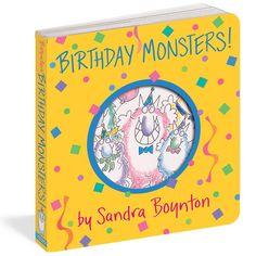 Kids Story Books Birthday Monsters! (Boynton on board)