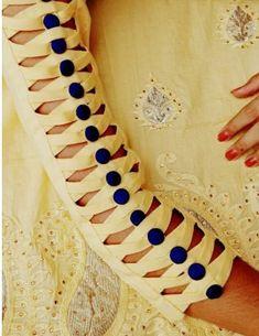 Stylish Kurtis Design, Stylish Blouse Design, Fancy Blouse Designs, Stylish Dress Designs, Kurti Sleeves Design, Sleeves Designs For Dresses, Sleeve Designs, Latest Dress Design, Velvet Dress Designs