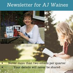 Join AJ Waines' free Newsletter for updates on forthcoming books, freebies, competitions and behind the scenes info...