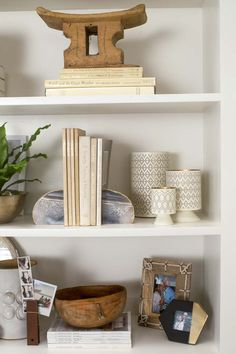 Shelf styling with @target new fall pieces.